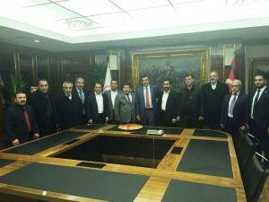 MÜSİAD Malatya Şubesi Bakan Tüfenkci'yi Ziyaret Etti