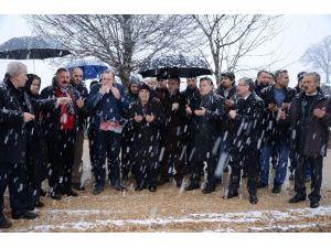 1 Kasım Caminin Temel Atma Töreni Gerçekleştirildi