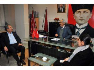 Başkan Akkaya'dan CHP İlçe Teşkilatına Ziyaret