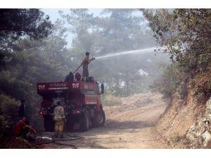 Amanoslar'daki Orman Yangını Söndürüldü