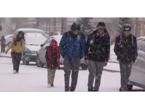 Suşehri'nde okullar tatil edildi