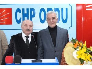 CHP Ordu İl Başkanlığı'nda Görev Değişimi