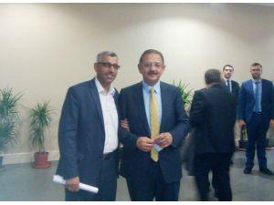 Büro Memur-sen Şube Başkanı Çetinkaya'dan Özhaseki'ye Ziyaret