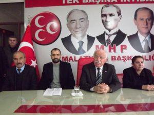 MHP İl Başkanı Mehmet Erdem: