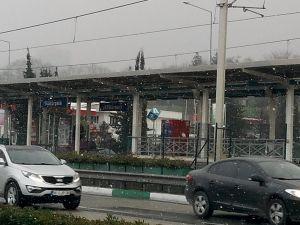Kar Bursa'da etkili oluyor
