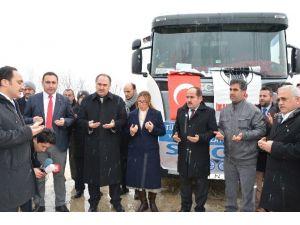 Sinop'tan Bayırbucak Türkmenlerine Yardım