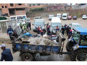 Sason Belediyesi'nden Sokak Temizliği