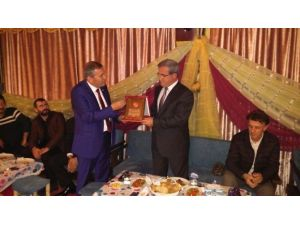 Başkan Akcan'a Askf'den Şükran Plaketi