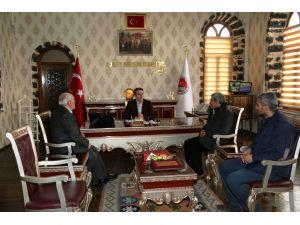 Diyarbakır Siverekliler Derneği, Kaymakam Karagül'ü ziyaret etti