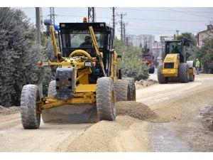 Mersin Büyükşehir'in Kırsaldaki Asfalt Ve Yol Onarım Çalışmaları Sürüyor