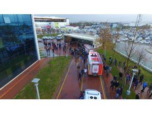 Büyükşehir'de Acil Durum Tatbikatı Yapıldı