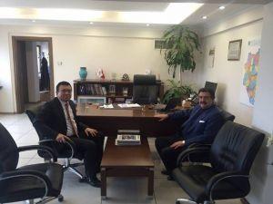 Başkan Kale'den Medaş Genel Müdürüne Ziyaret