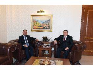 Bakan Bozdağ'dan Yargıtay Başkanı Cirit'e İade-i Ziyaret