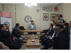 AK Parti İl Başkanı Memur-sen'i Ziyaret Etti