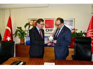 CHP Yeni İl Başkanı Görevi Devraldı