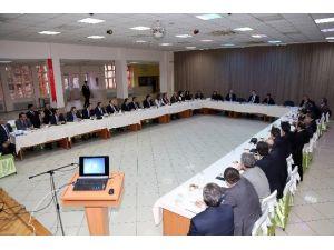 Gümüşhane'de 2015 Yılının Son İl Müdürleri Koordinasyon Toplantısı Gerçekleştirildi