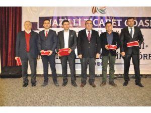 Nazilli Ticaret Odası, Üyelerini Onurlandırdı