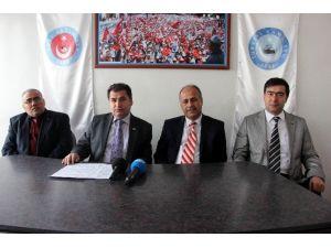 Türk Sağlık-sen Gaziantep Şube Başkanı Kemal Kazak