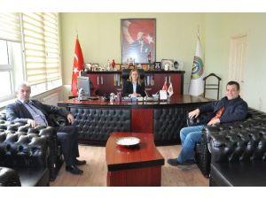 Şoförler Odası Başkanı Şen'den, Belediye Başkan Vekili Nuran Başkütük'e Ziyaret