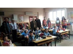 Aydın Kızılay'dan Okullara Anlamlı Takvim