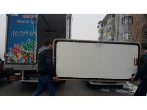 Pursaklar'dan Türkmenlere Yardım Seferberliği Sürüyor