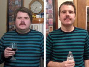 Bir yıl önce alkolü bıraktı; değişimi görenleri şaşırttı
