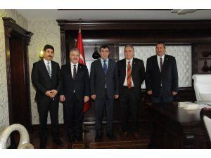 Bölge Milletvekillerinden Kalkınma Bakanı Cevdet Yılmaz'a Ziyaret