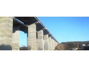 Boğaz Köprüsü Ve Kuzey Marmara Otoyolu Projesi'nin En Büyük Viyadüğünde Çalışmalar Tamamlandı