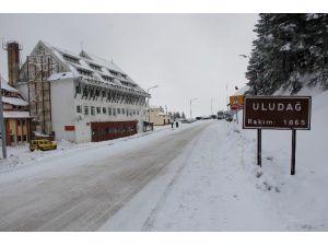 Uludağ'da Kar Kalınlığı 40 Santimetre