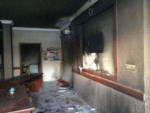 AK Parti Darıca Teşkilatına Molotoflu Saldırı
