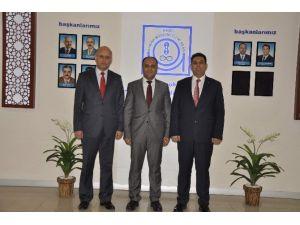 Başkan Özaltun'dan Makina Mühendisleri Odası'na Ziyaret
