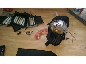 Yakalanan teröristler, bomba yeleğini patlatmaya hazır hale getirmiş