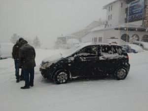 Uludağ'da Kar Kalınlığı 40 Santime Ulaştı