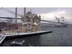 İstanbul'dan Kar Manzaraları, İBB Turistik Kameralarına Böyle Yansıdı