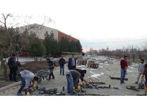 Ergani Modern Bir Spor Salonuna Kavuşuyor