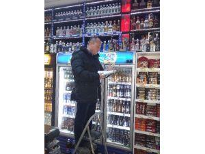 Malkara İlçe Tarım Alkol Denetimi Yaptı
