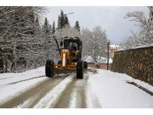 Nilüfer'de Karla Mücadele Ekipleri İş Başında