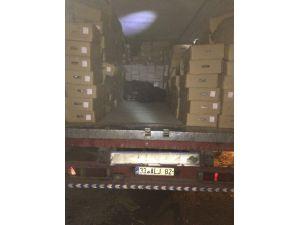 Şanlıurfa'da 183 Bin Paket Kaçak Sigara Ele Geçirildi