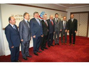 AK Parti Zonguldak Milletvekillerinden Bakan Yıldırım'a Ziyaret