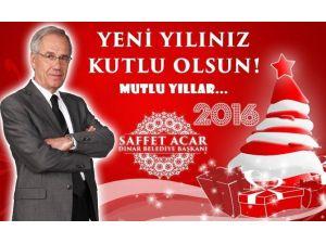 Başkan Acar'dan Yeni Yıl Mesajı