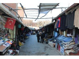 Malatya Tellal Pazarı Kapanıyor Esnaf Yardım Bekliyor