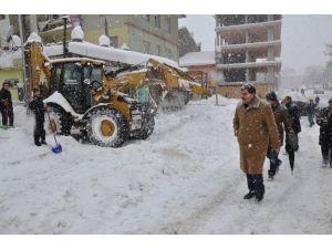 Muş'ta Kar Seferberliği