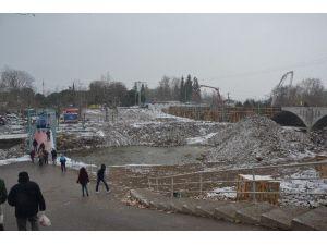 Biga'da Kar Yağışı
