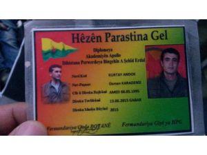 Çatışmada öldürülen terörist, askerî birliğinden firar edip PKK'ya katılmış