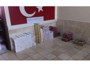 Denizli'de 3 Bin Paket Kaçak Sigara Ele Geçirildi