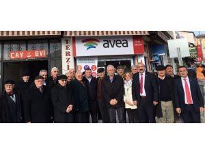Milletvekillerinden Erayhan'a Hayırlı Olsun Ziyareti
