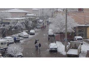 Ergani'de Yılın İlk Karı