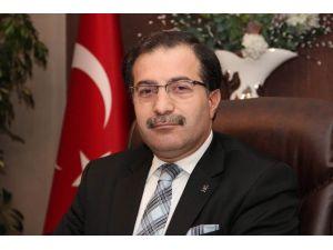AK Parti İl Başkanı Şahin'den Yeni Yıl Mesajı