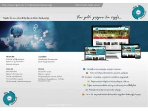 Niğde Üniversitesi Web Sayfasını Yeniledi