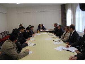 İncesu Belediye Başkanı Zekeriya Karayol Birim Müdürleriyle Birlikte 2015 Yılı Değerlendirmesi Ve 2016 Yılı Projeleri Hakkında Toplantı Yaptı
